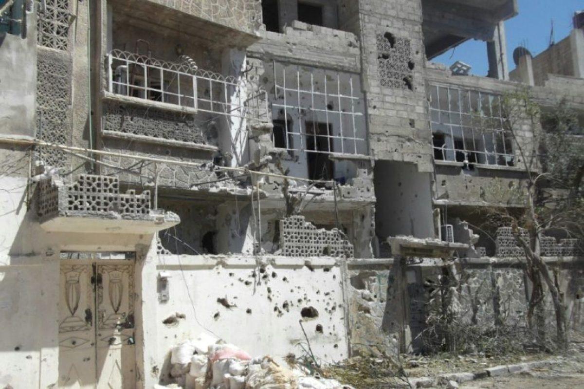 Casas destruidas por los bombardeos en Duma, Siria, el 2 de julio de 2016 Foto:-/afp.com