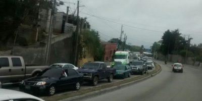 Transportistas intentan reunirse con autoridades de la municipalidad de Guatemala