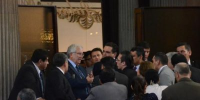 Oliverio García Rodas ya no quiere ser presidente del Congreso y elección queda fuera de la agenda