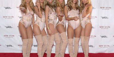 Fotos: Ellas fueron las cinco modelos sexys que clonaron a Heidi Klum