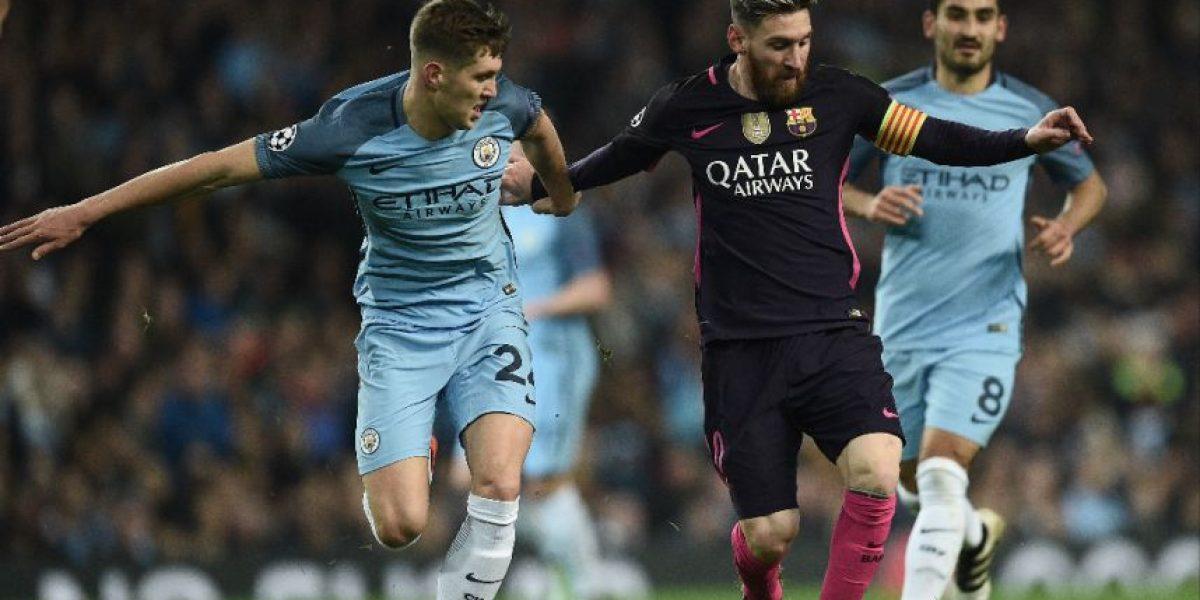 Messi entra en la polémica por insultos a un jugador del Manchester City