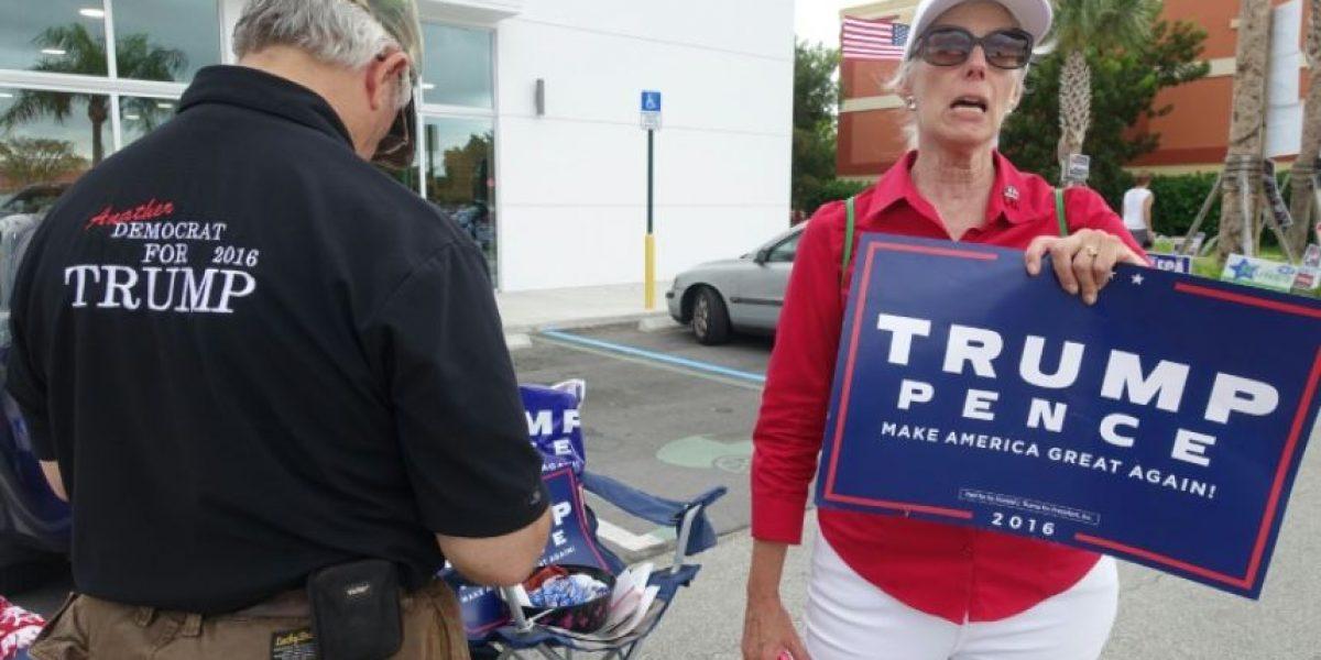 Trump y Clinton apuestan por la campaña en el terreno para disputarse Florida