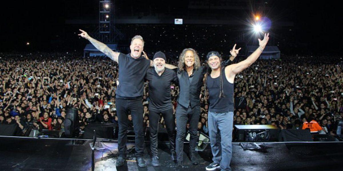 Metallica ya está en Guatemala y tu foto del concierto puede aparecer en su página