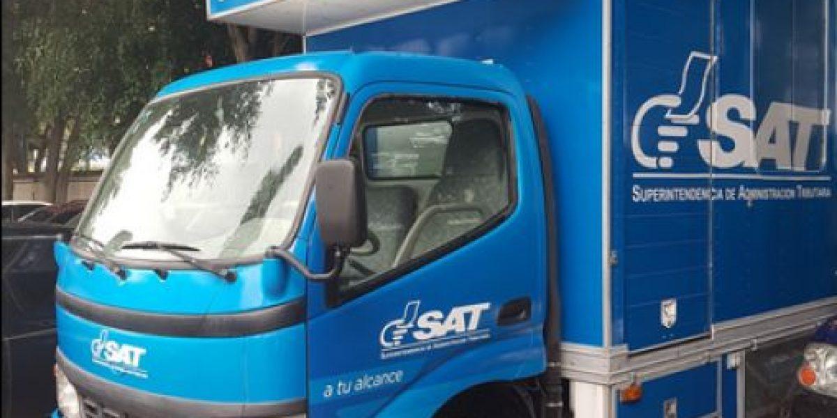 SAT sacará a las calles estos puestos móviles para asesorar a contribuyentes