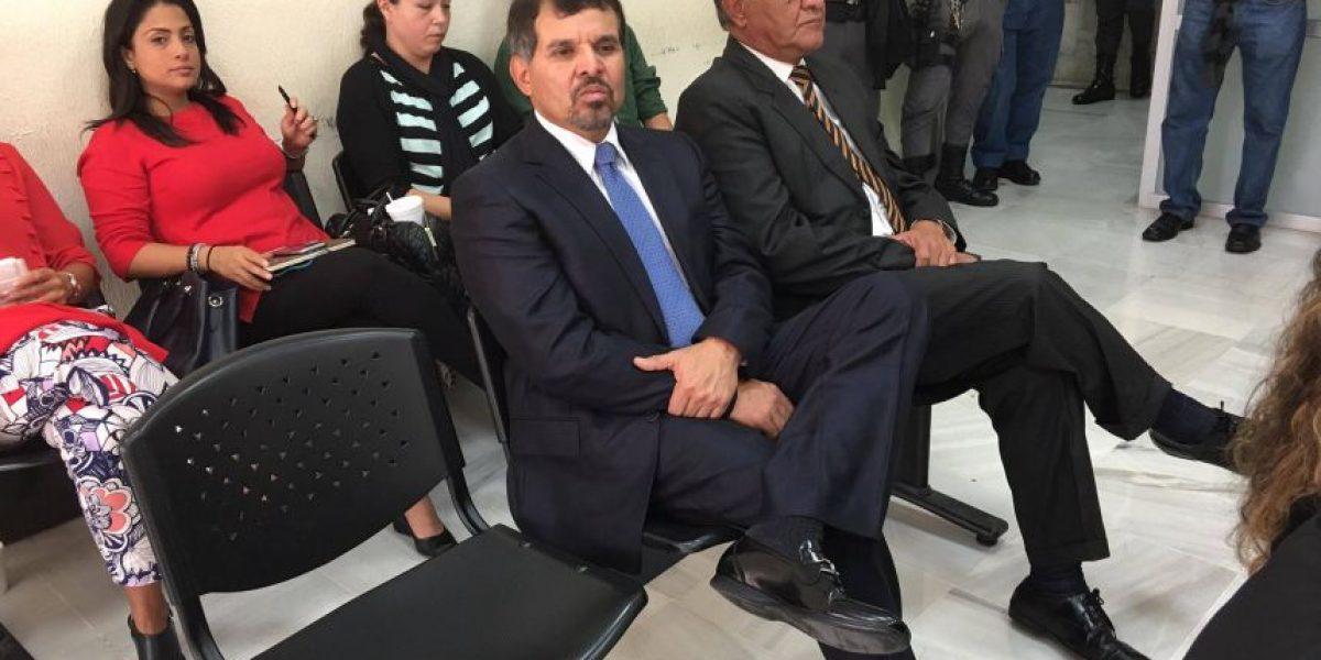 Fiscalía hace imputación por lavado de dinero al expresidente del Bantrab