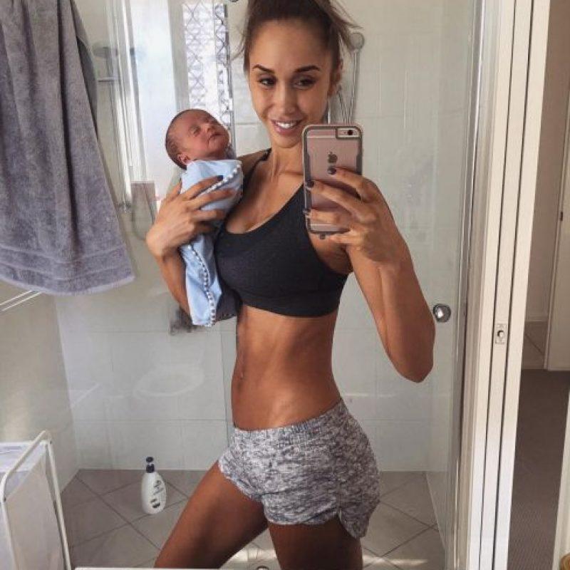Vía instagram.com/chontelduncan/?hl=es Foto:Presumió su abdomen durante su embarazo