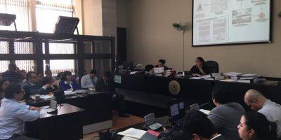 Fiscalía continúa explicando las transferencias del Banco de Comercio