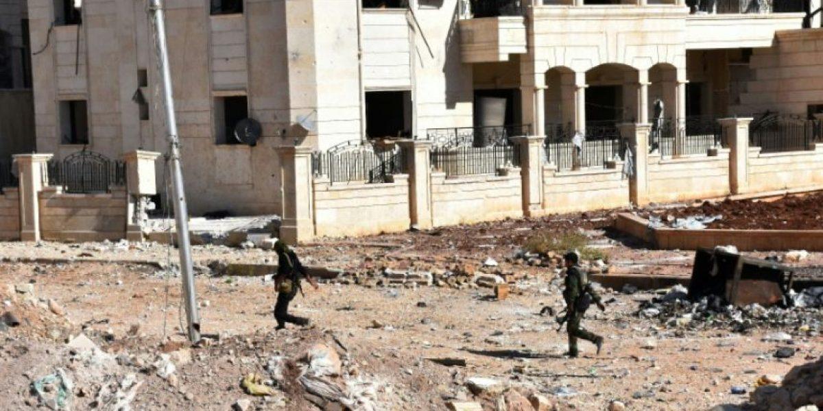 Ninguna salida de la zona rebelde de Alepo durante la tregua rusa