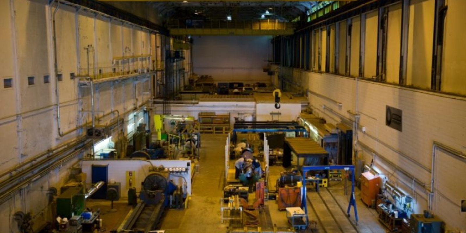 Una antigua empresa de fabricación de turbinas eléctricas de East Pittsburgh, en Pensilvania (EEUU), en una imagen del 7 de septiembre de 2016 Foto:Dominick Reuter/afp.com