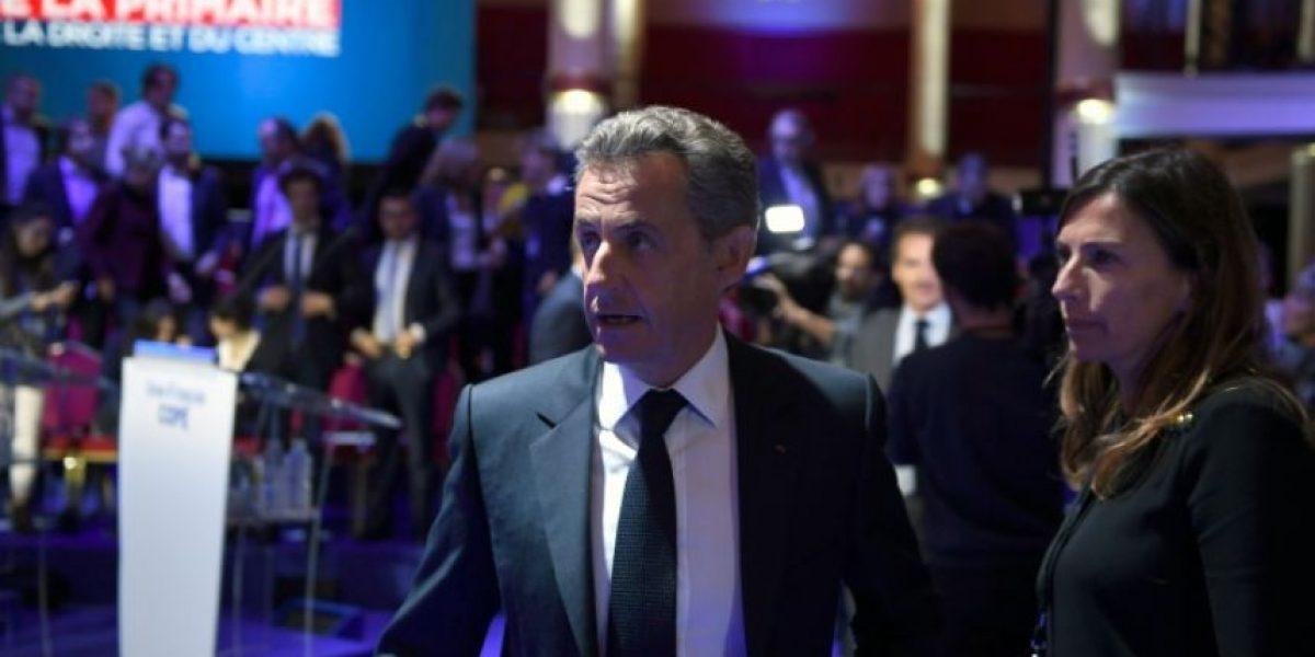 Sarkozy, blanco de críticas en el debate de las primarias de la derecha