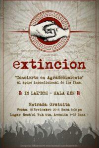 Foto:Facebook/ExtincionOficialPage