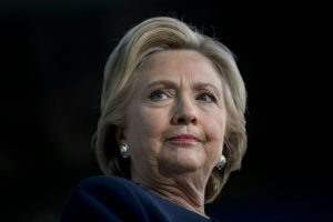 Hillary Clinton, durante un mitin que dio el viernes 4 de noviembre en Detroit, al noreste de EEUU Foto:Brendan Smialowski/afp.com