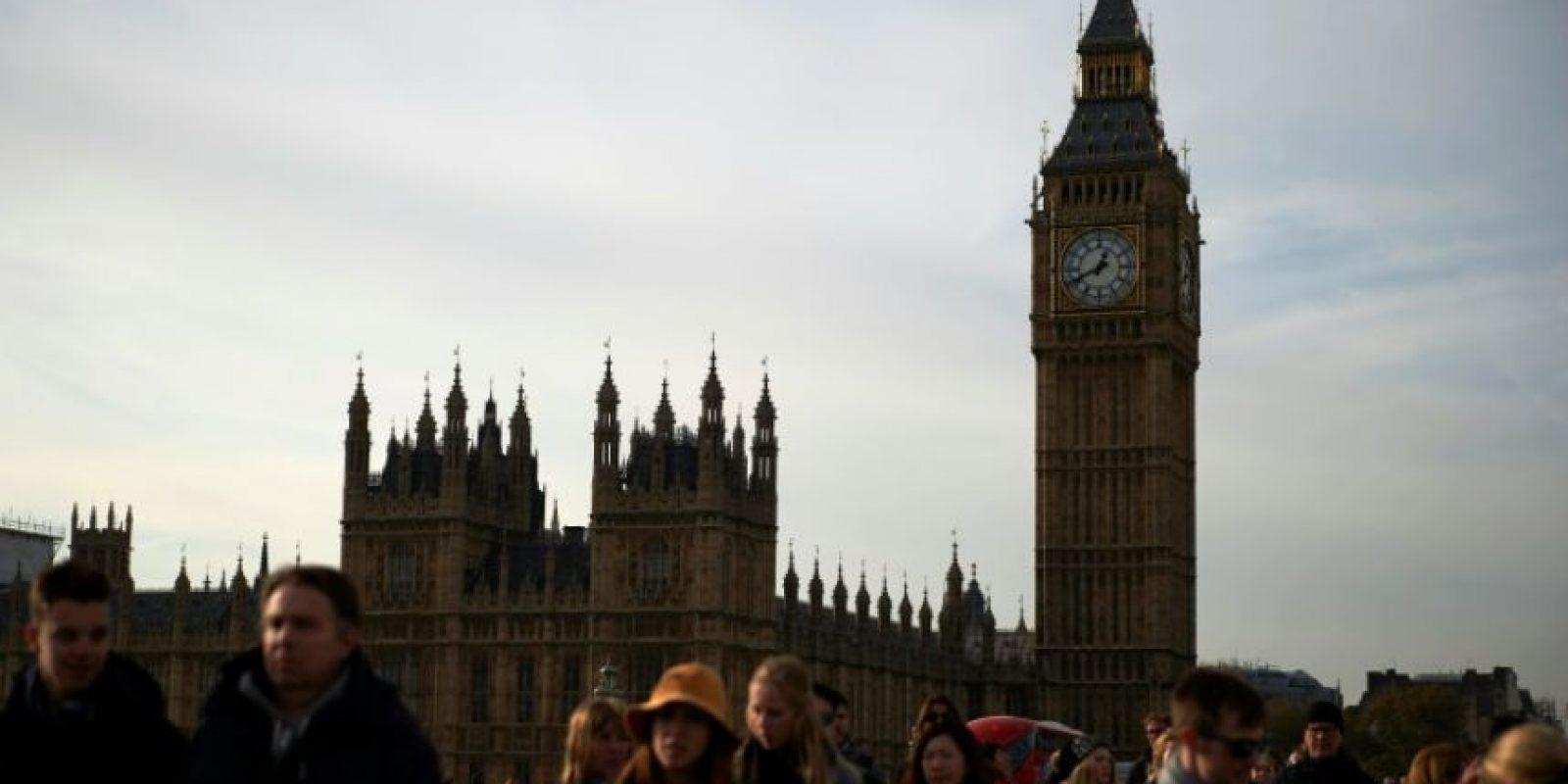 Una imagen del Parlamento británico, con la célebre torre del reloj Big Ben, tomada el pasado 3 de noviembre en Londres Foto:Niklas Halle'n/afp.com