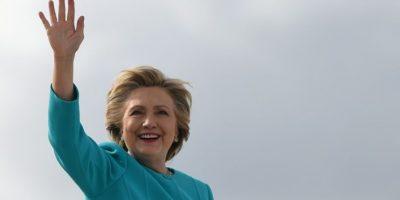 Hillary Clinton, candidata demócrata a la Casa Blanca, el 26 de octubre de 2016 en un acto de campaña en Miami Foto:Robyn Beck/afp.com