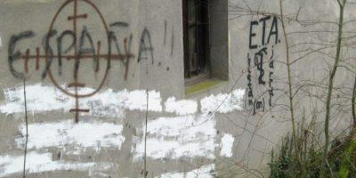 Unas pintadas fotografiadas en la localidad alavesa de Llodio el 15 de diciembre de 2007 Foto:Rafa Rivas/afp.com