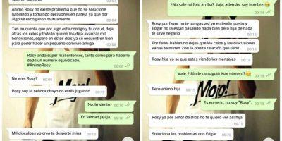 Madre intenta arreglar infidelidad de su hijo pero se confunde de chat