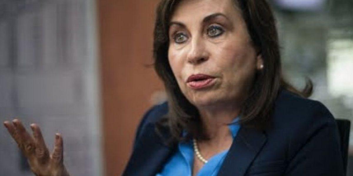 Sandra Torres indica que el Estado debe