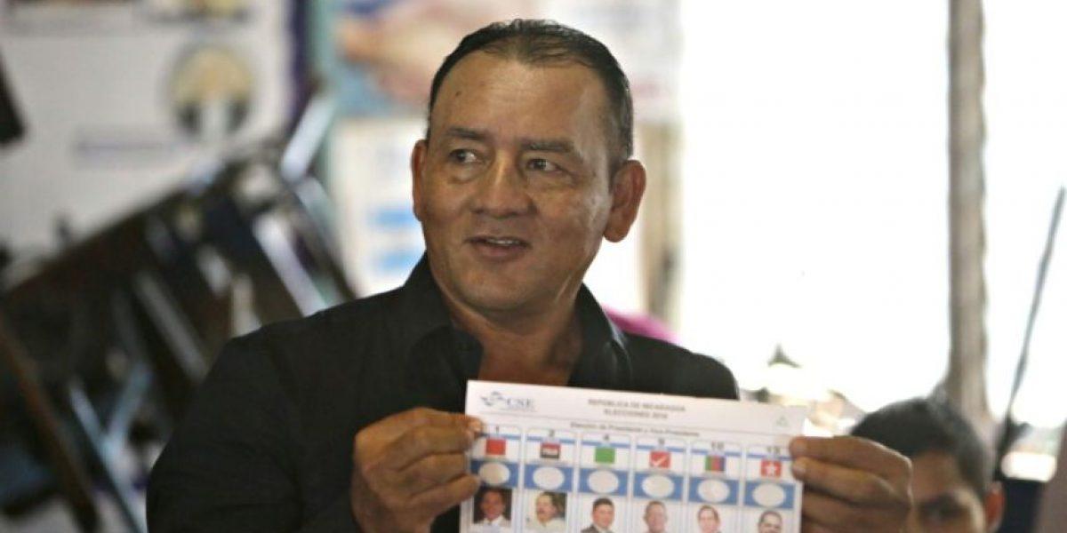 Nicaragua acude a votar con Ortega como favorito a otra reelección