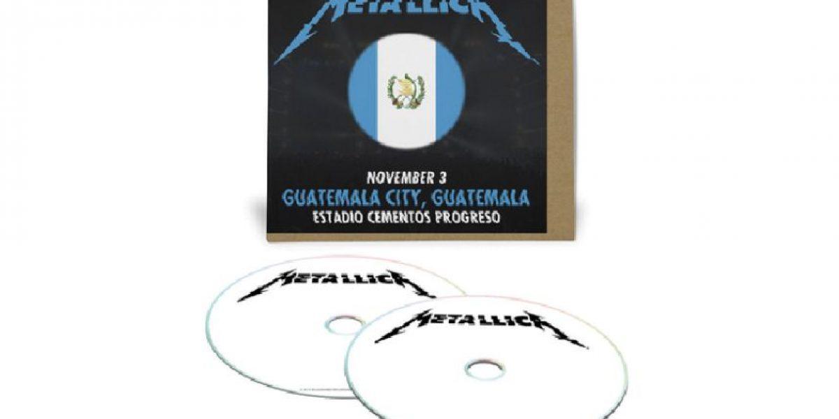 #MetallicaEnGuatemala. Ya puedes preordenar el álbum doble del concierto en el país