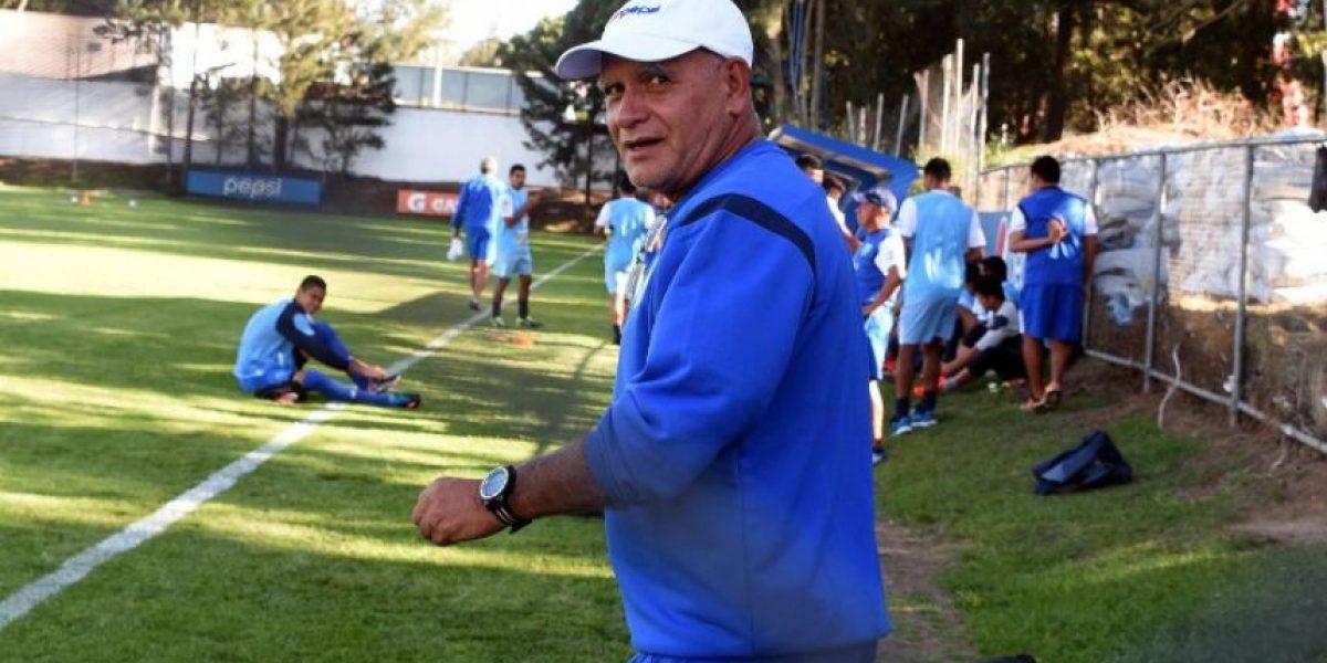 Walter Claverí queda al margen de la selección de Guatemala