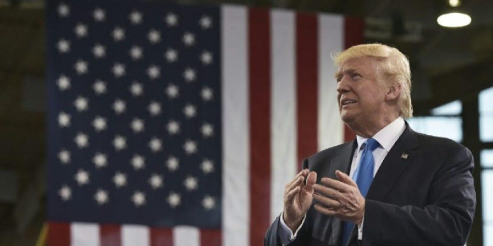 Donald Trump hace campaña en Raleigh, Carolina del Norte, el 7 de noviembre de 2016 Foto:Mandel Ngan/afp.com