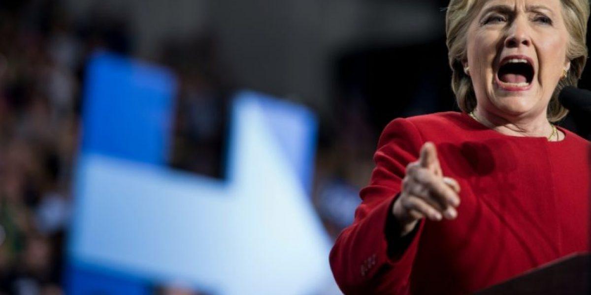 Clinton, positiva y unificadora antes de la elección
