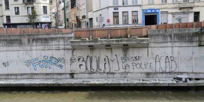 El Canal de Bruselas, que separa la capital belga del distrito de Molenbeek, en una imagen del 18 de octubre de 2016 Foto:Emmanuel Dunand/afp.com