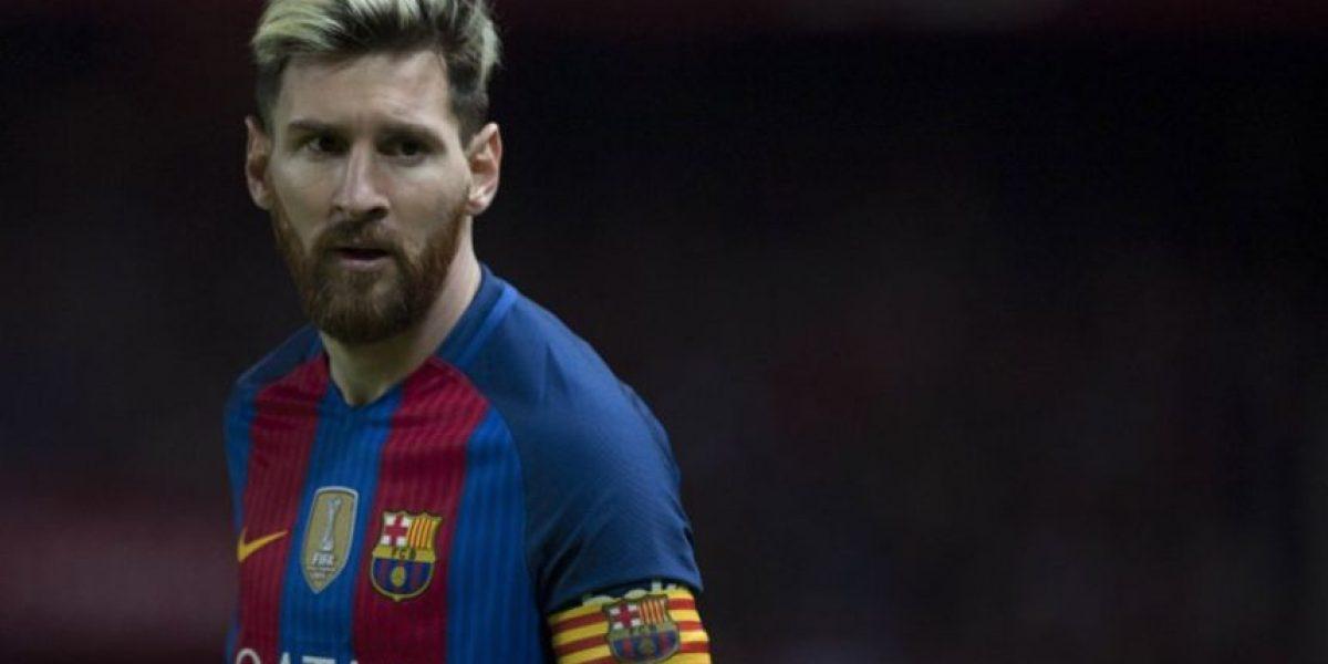 Messi fue el protagonista ante los actores de