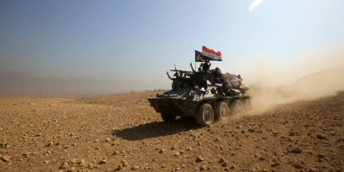 El EI retrocede ante la doble ofensiva para recuperar Raqa y Mosul
