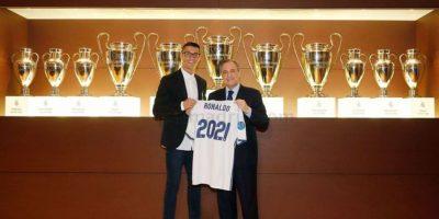 EN IMÁGENES: Así fue el acto de renovación de Cristiano Ronaldo