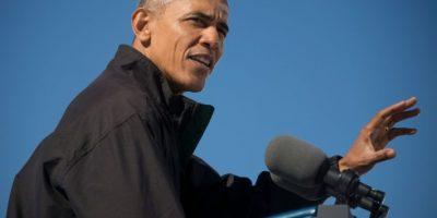 El presidente Barack Obama habla durante un mitin en apoyo a Hillary Clinton el pasado 14 de octubre en Cleveland (al noreste de EEUU) Foto:Jim Watson/afp.com