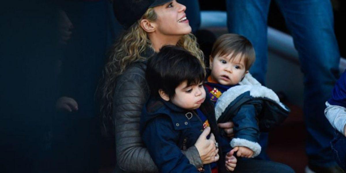 FOTOS: Reaparece hijo de Shakira después de haber sido hospitalizado