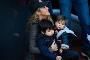 Milan, el hijo mayor de Shakira, permaneció internado por cuatro días en un hospital de Barcelona. Foto:Getty Images