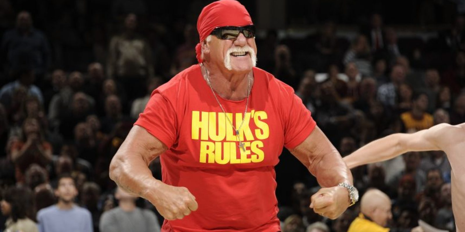 Varias son las figuras del deporte que han hecho pública su preferencia por uno de los candidatos. Hulk Hogan está del lado de Donald Trump. Foto:AFP