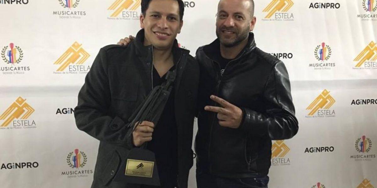 Ellos son los artistas ganadores de los Premios Estela de la Música de Guatemala