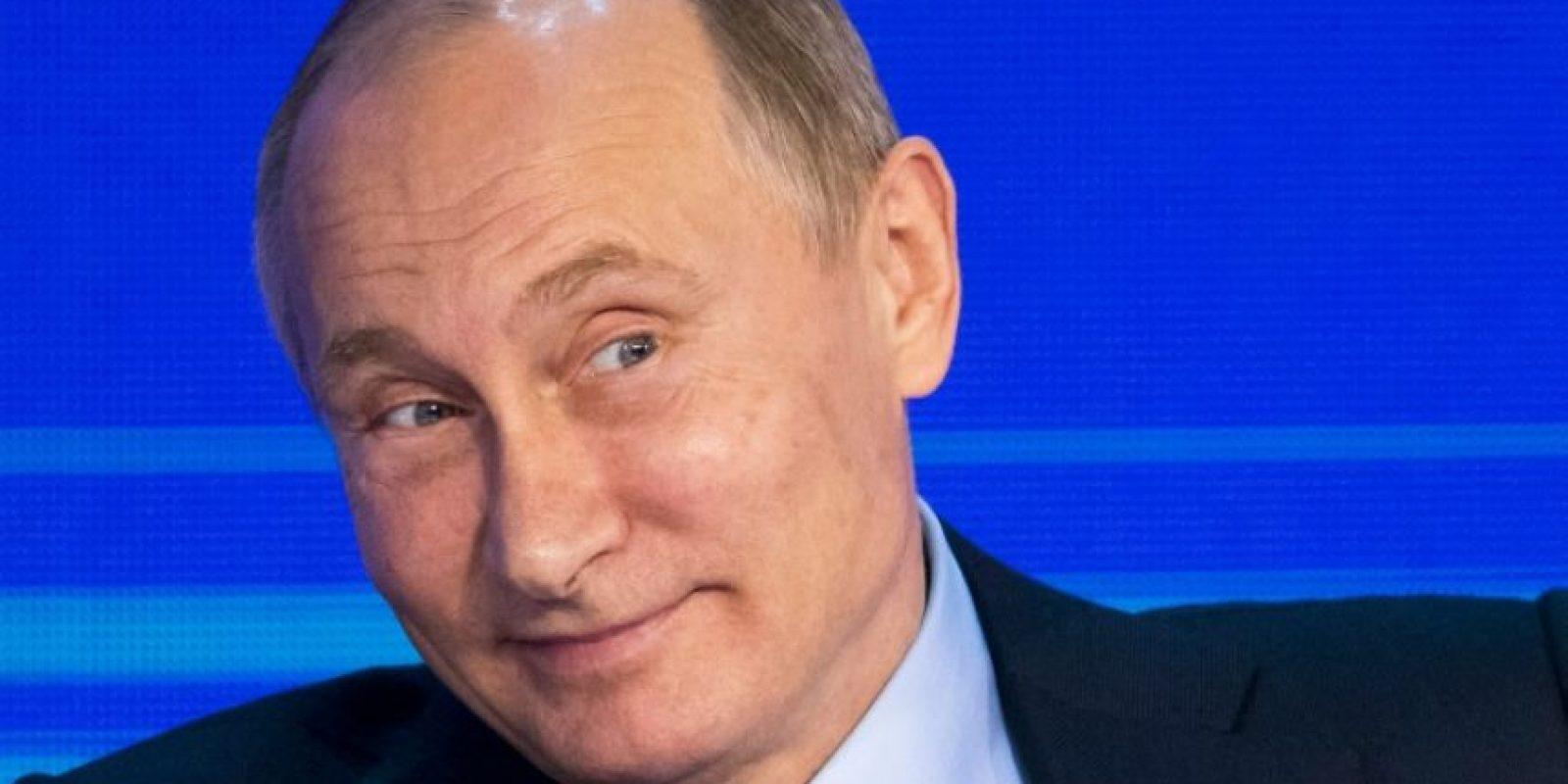 El presidente ruso, Vladimir Putin, en el Congreso de Negocios de Rusia en Moscú, el 18 de octubre de 2016 Foto:Alexander Zemlianichenko/afp.com