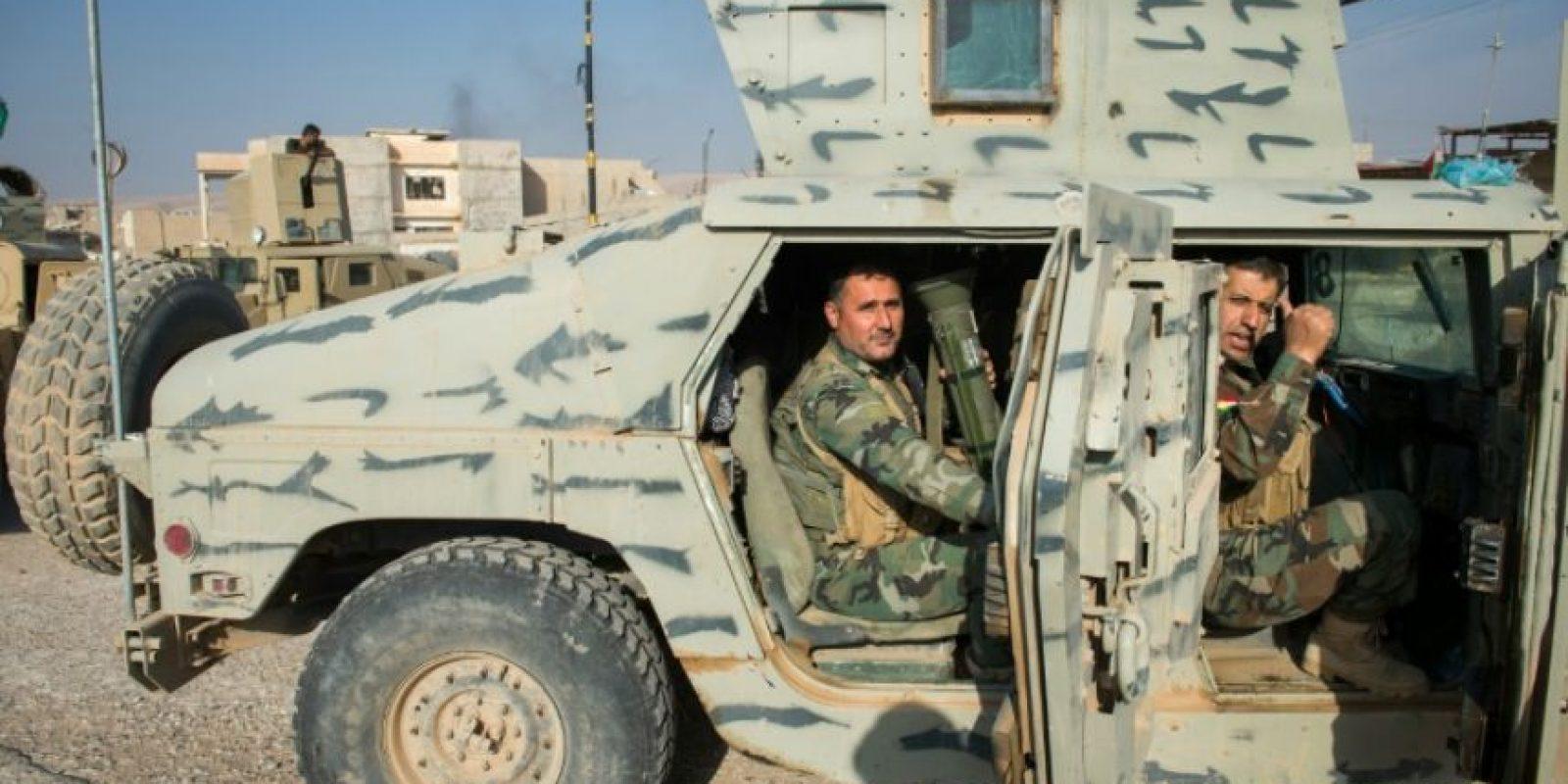 Combatientes kurdos en la ciudad de Bashiqa el 8 de noviembre de 2016 Foto:Odd Andersen/afp.com