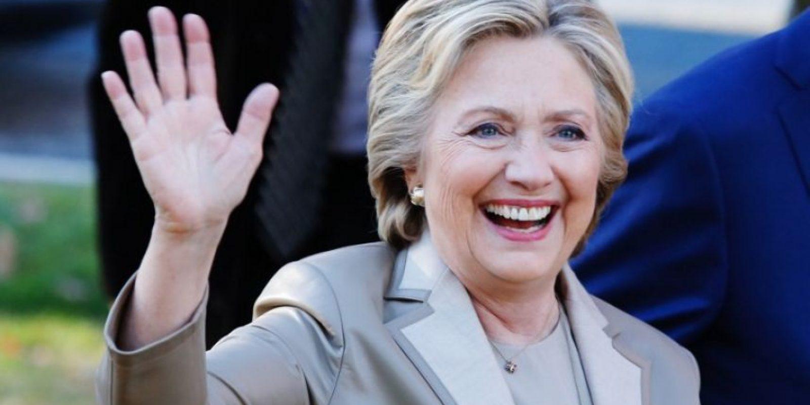 Hillary Clinton obtuvo el 78 % de los votos en el sondeo. Foto:AFP
