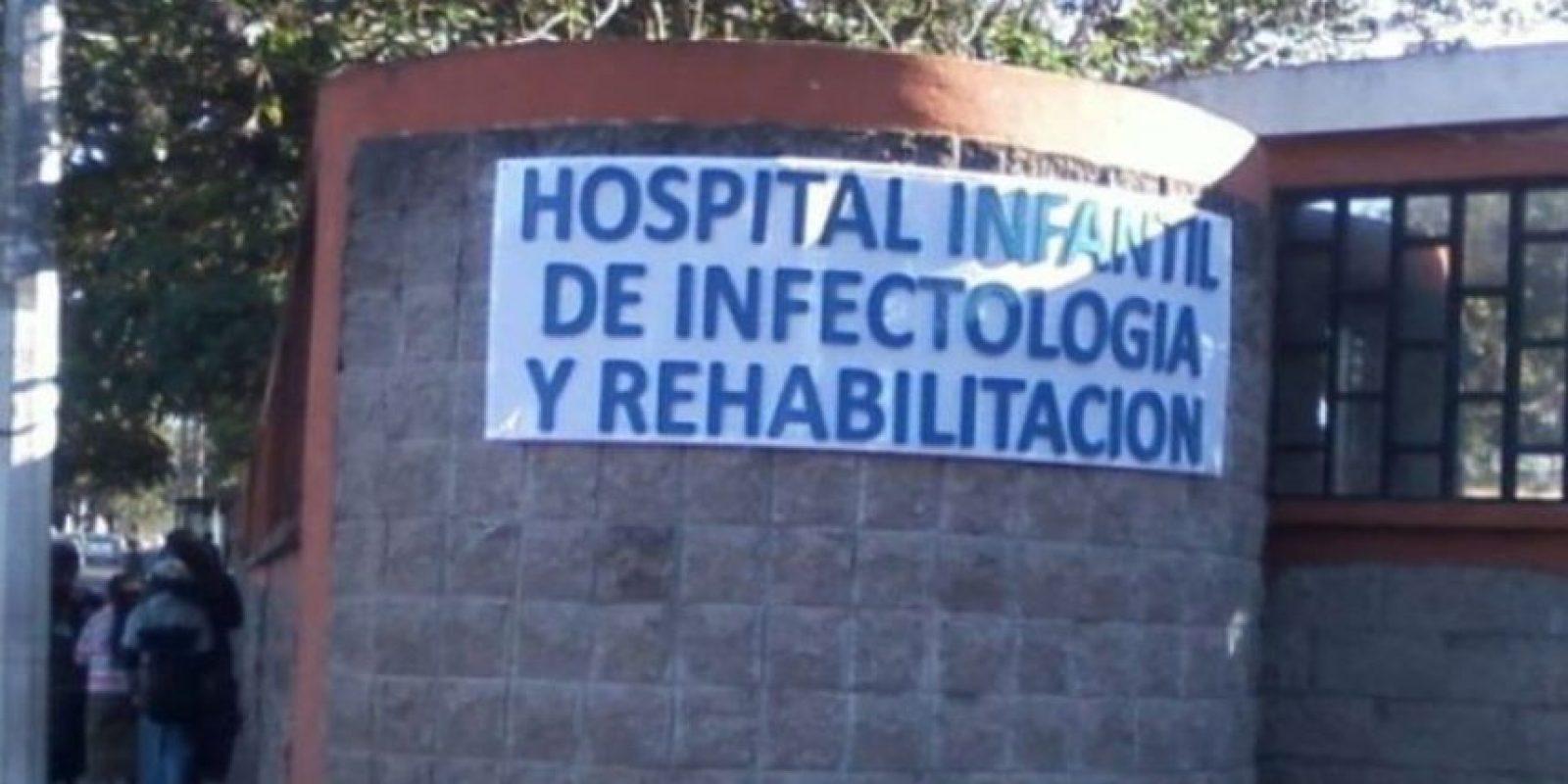 Foto:Hospital Infantil de Infectología