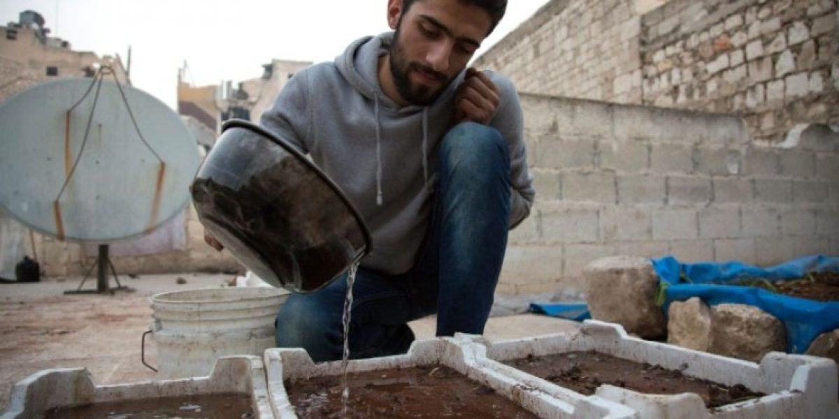 En Alepo, los sirios se las apañan como pueden ante al asedio