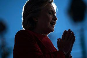 La demócrata Hillary Clinton da un discurso en Pittsburgh, Pensilvania, el 7 de noviembre de 2016 Foto:Brendan Smialowski/afp.com