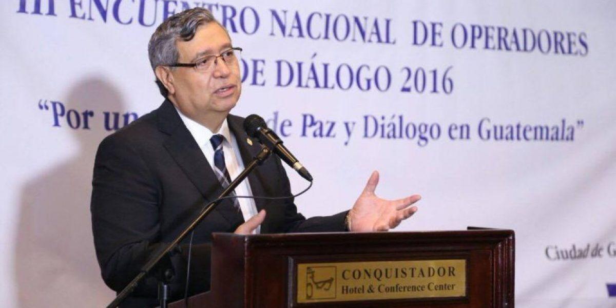 Vicepresidente Jafeth Cabrera arremete contra