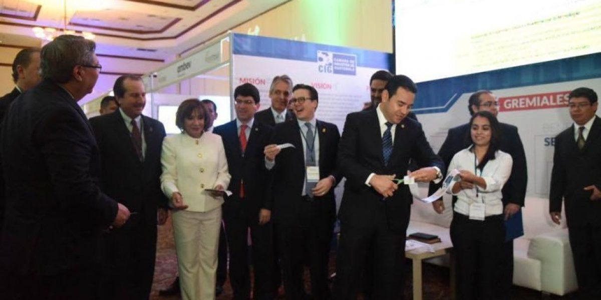 Guatemala es sede de un foro para atraer a inversionistas