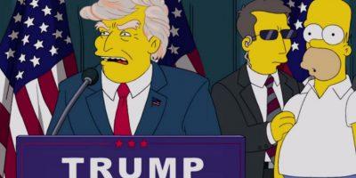 """VIDEO. La inquietante predicción de """"Los Simpson"""" acerca de Donald Trump"""