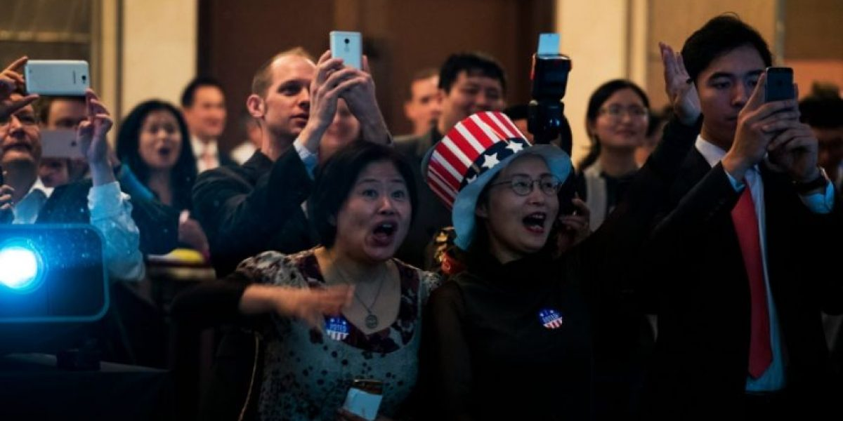 La victoria de Trump deja a los chinos atónitos pero optimistas