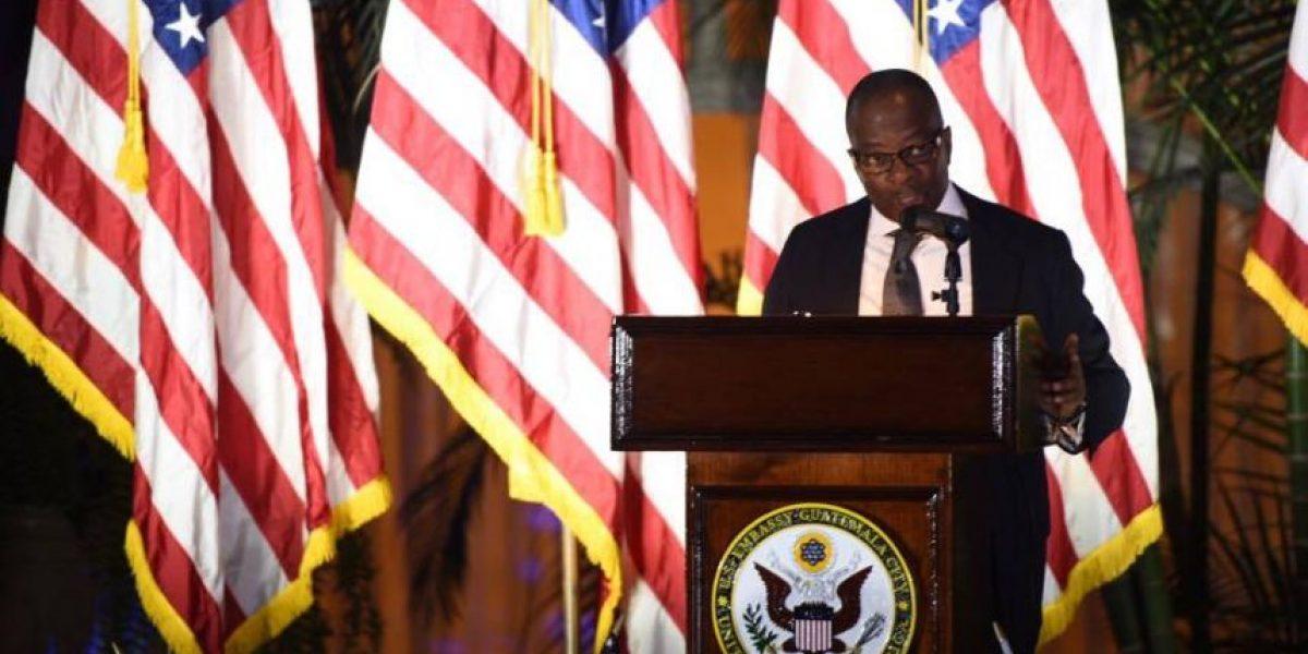 Robinson asegura que, sea quien sea electo presidente de EE. UU., la ayuda para Guatemala seguirá