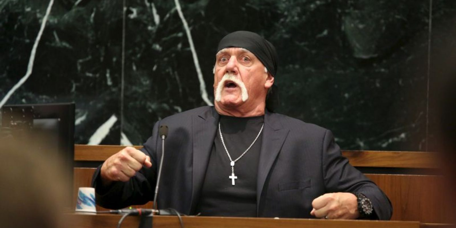 Getty Images Foto:El exluchador Hulk Hogan