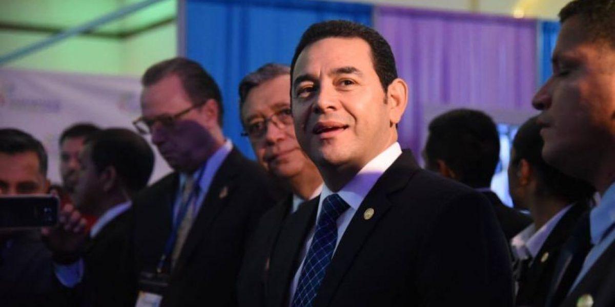 Jimmy Morales responde por solicitud de antejuicio en su contra presentada por la UNE