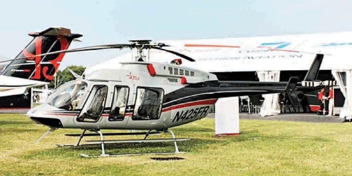 Inicia el juicio de extinción de dos helicópteros del encarcelado expresidente Otto Pérez