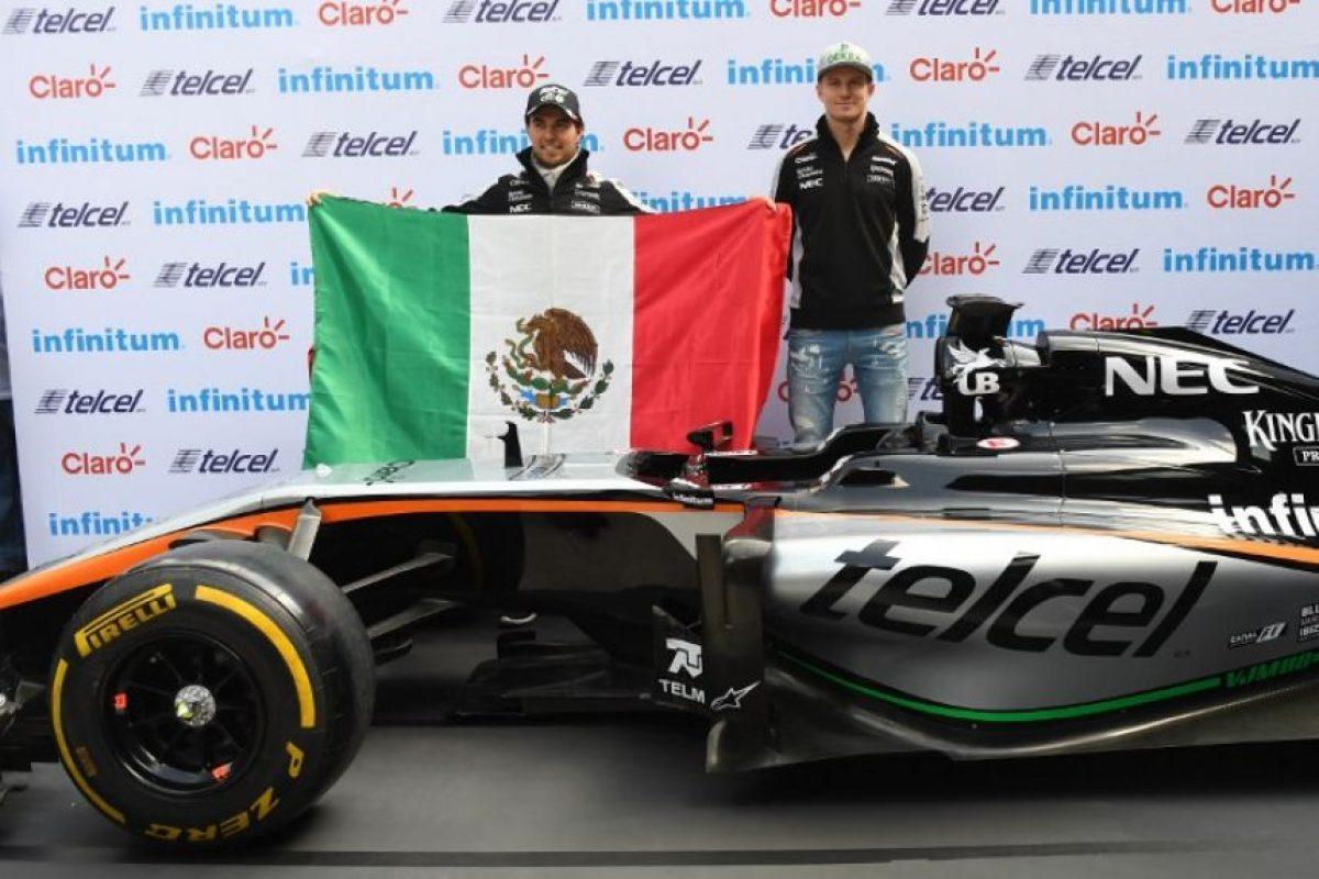 """Sergio """"el Checo"""" Pérez reaccionó en contra del mensaje que consideró un insulto para sus compatriotas. Foto:AFP"""